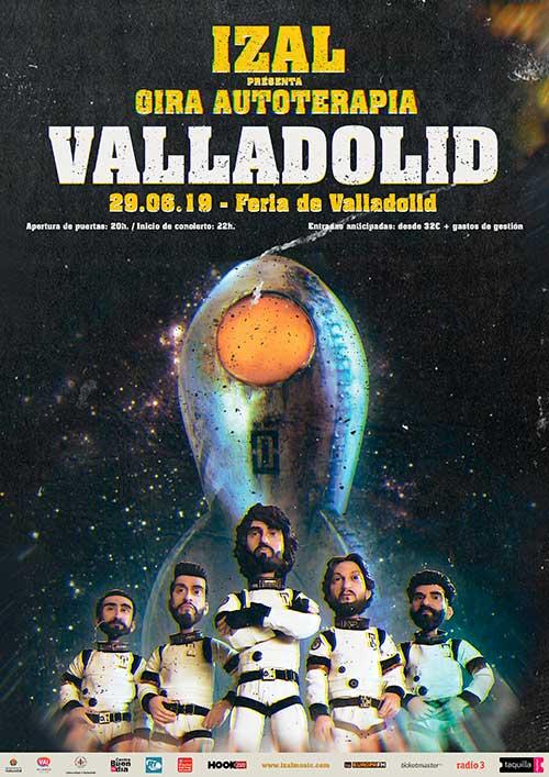 IZAL en Valladolid: presentación 25 aniversario Valladolindie